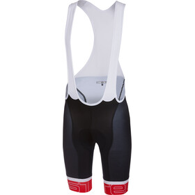 Castelli Volo Short de cyclisme Homme, black/red